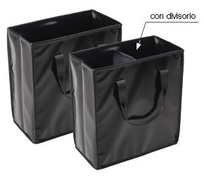 Le borse perfette per la raccolta differenziata