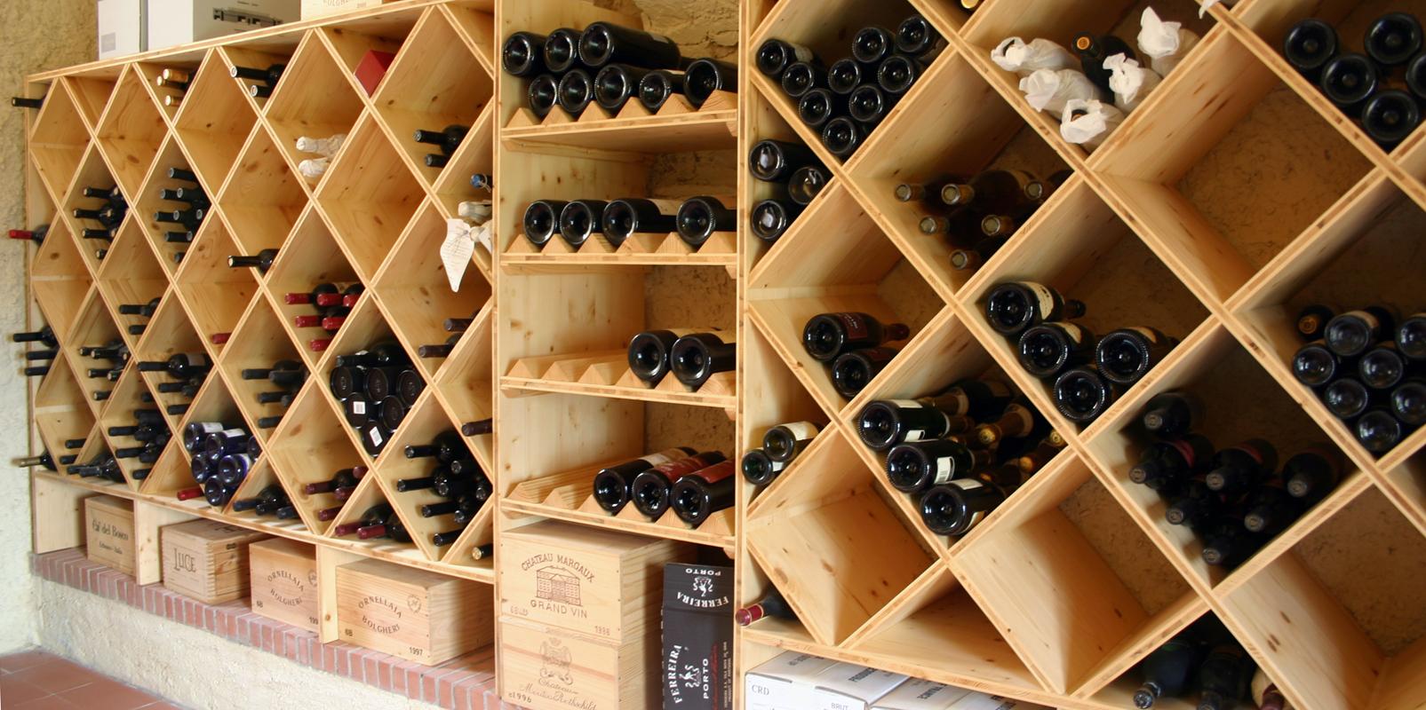 Weinkeller in Rovio