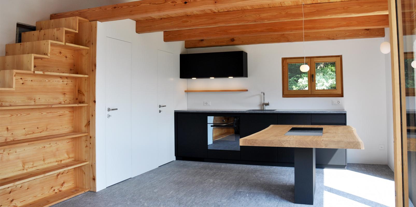Küche Artemide Haus in Gola di Lago