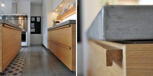 maniglia personalizzata in legno