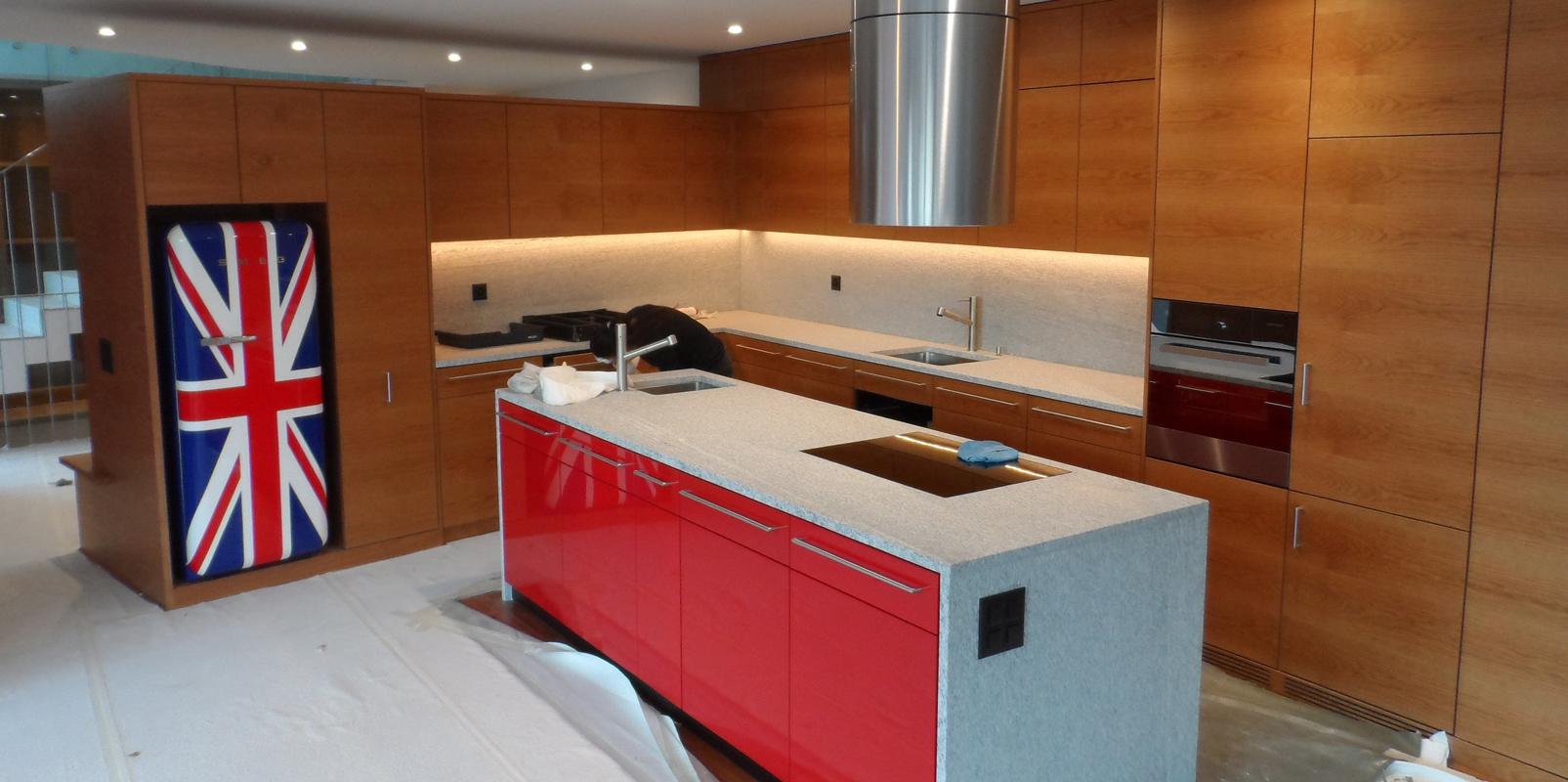 Küche in Rovio