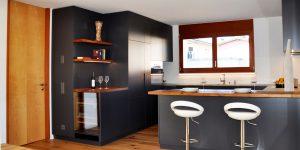 cucina laccato antracite
