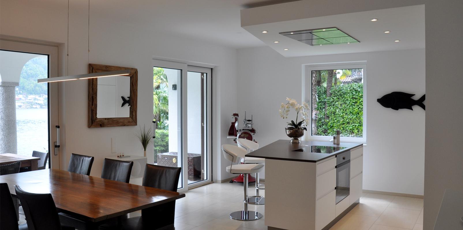 Küche in Vico Morcote
