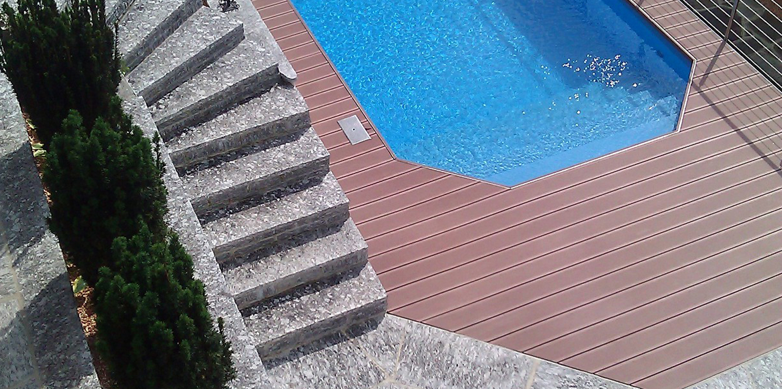 Schwimmbad in Rovio