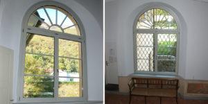 Finestre su misura palazzo storico