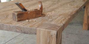 gamba legno massiccio